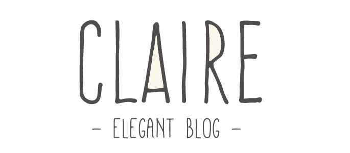 Claire WordPress Theme